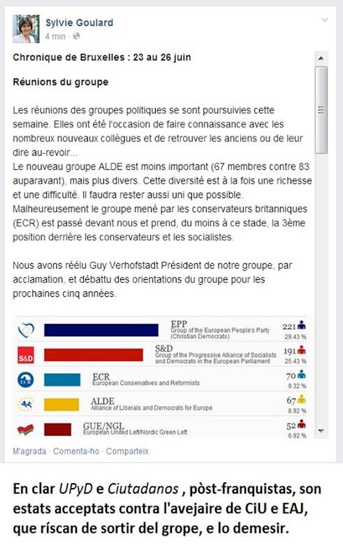 ALDE a la deriva