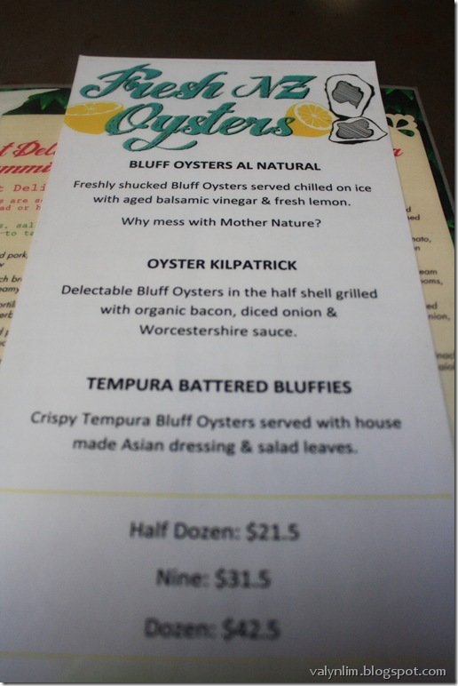 bluff oyster