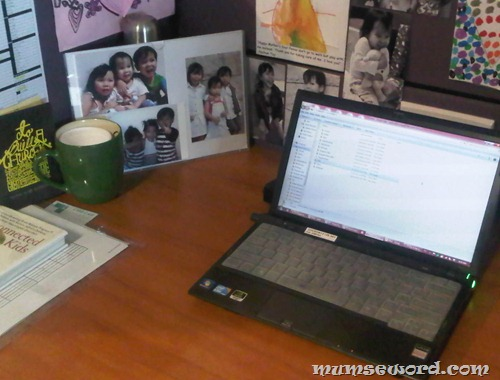 My workdesk
