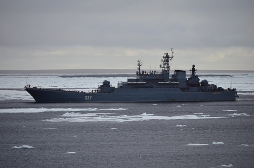 Арктический поход группы кораблей Северного флота