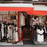 fashion store on Takeshita dori in Harajuku, Tokyo, Japan
