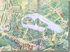 Plan de l'exposition coloniale de 1931