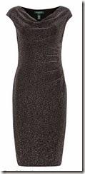 Lauren Ralph Lauren silver jersey dress