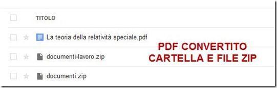 caricare file pdf rar e zip