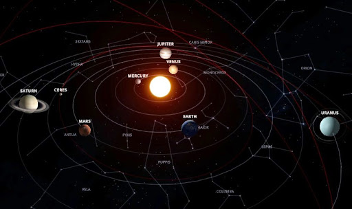 Solar System Scope (Güneş sistemini inceleyin)