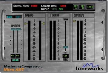 Timeworks Mastering Compressor فلتر التايم وورك