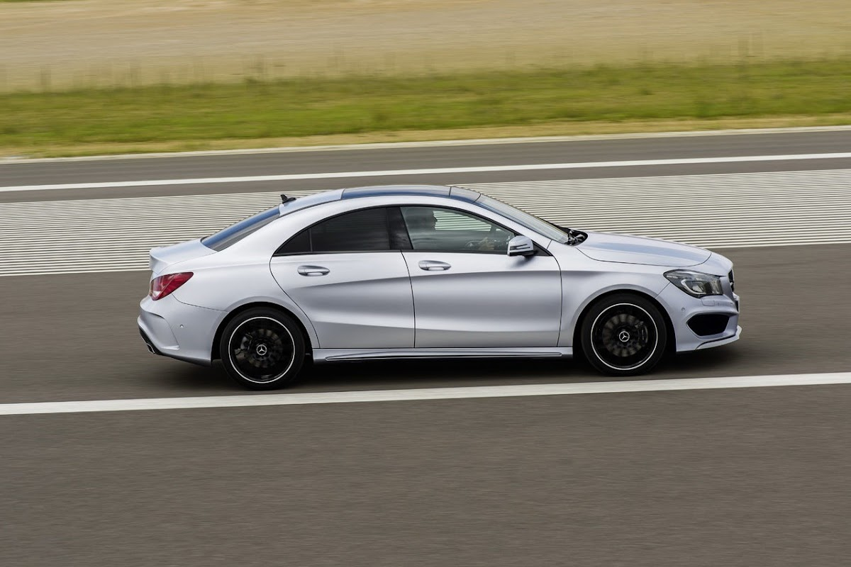 New MercedesBenz CLA Finally Breaks Cover Goes on Sale this Fall