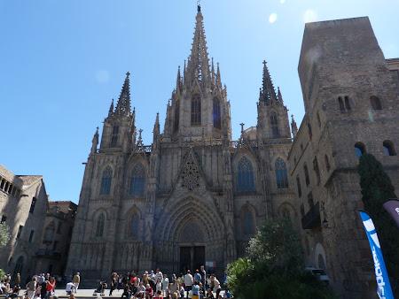Obiective turistice Barcelona: Catedrala