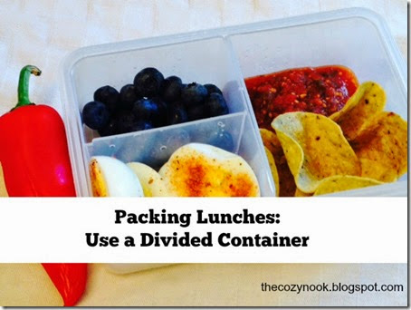 Packing Lunches - The Cozy Nook
