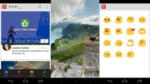 Actualización de Google Plus para Android