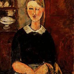 Modigliani, Pretty Housewife 1915.jpg