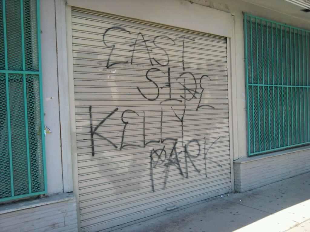 Compton Crip Graffiti Kelly Park Compton Crip