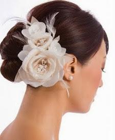 penteado de coque para noivas