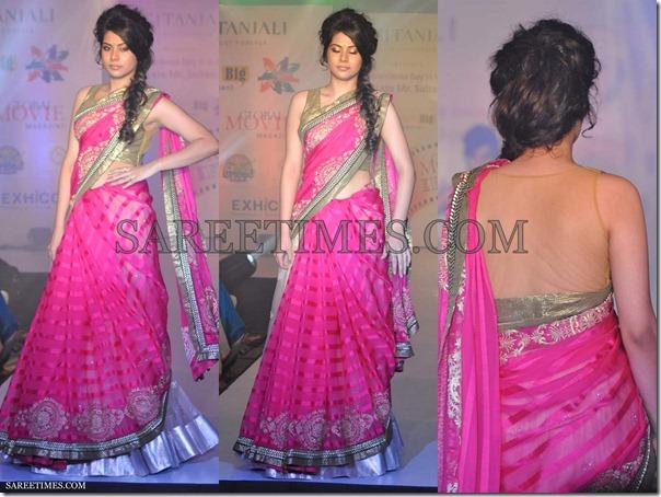 Manali_Jagtap_Pink_Saree