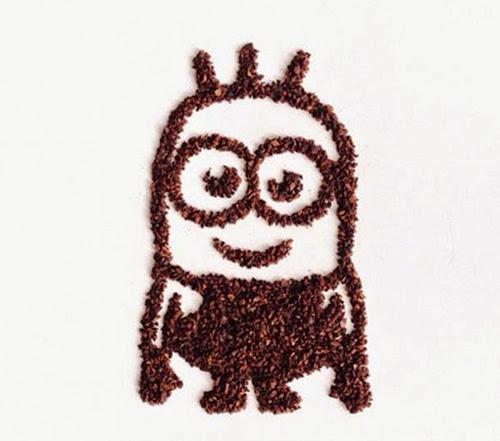 arte grãos café 15