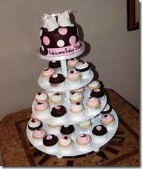 97 baby shower cupcake tower