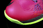 nike lebron 10 low gr purple neon green 1 08 Release Reminder: NIKE LEBRON X LOW Raspberry (579765 601)