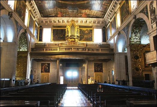 Gloria Ishizaka - Igreja de Sao Roque - coro-alto 2