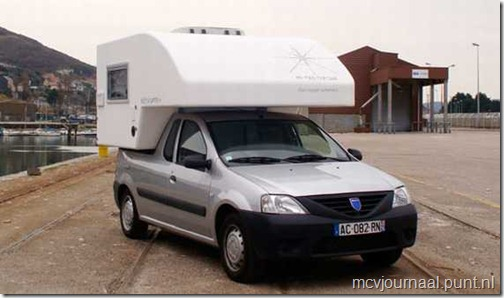 Dacia Logan Pick Up als Camper 04