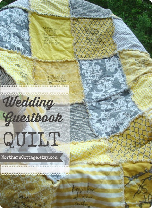 Wedding Guestbook QUILT {NorthernCottage}