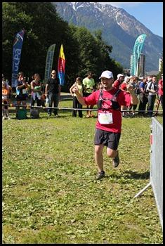 Christophe Fajardo au 10 km du Mont Blanc 2011