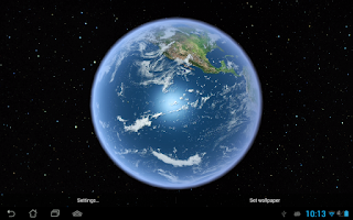 Screenshot of Earth HD Free Edition