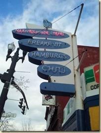 Corner Grill Sign