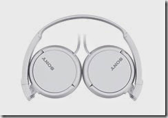 Buy Sony MDR-ZX110 Stereo Headphones – White Color at Rs.567 only