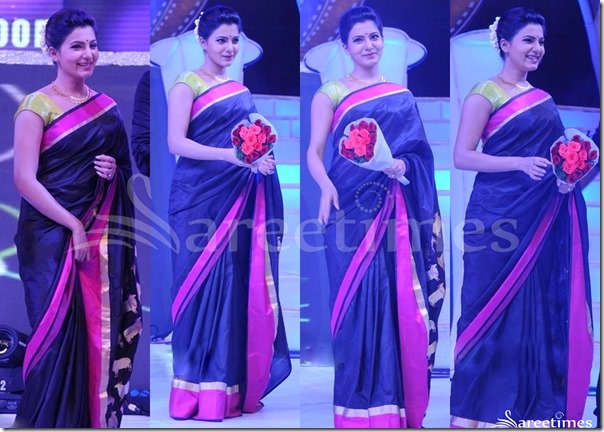 Samantha_Black_Saree