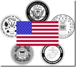 The United States of America army forces
