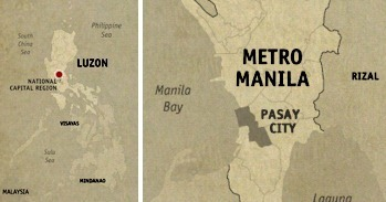 Pasay Location Map