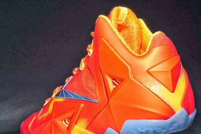 nike lebron 11 gr atomic orange 4 07 forging iron New Look at Forging Iron LeBron XI and Its Sick Packaging!