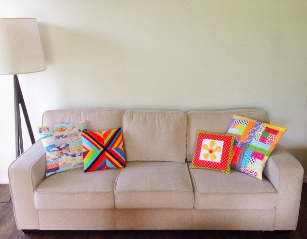 Scrappy Couch Cushions