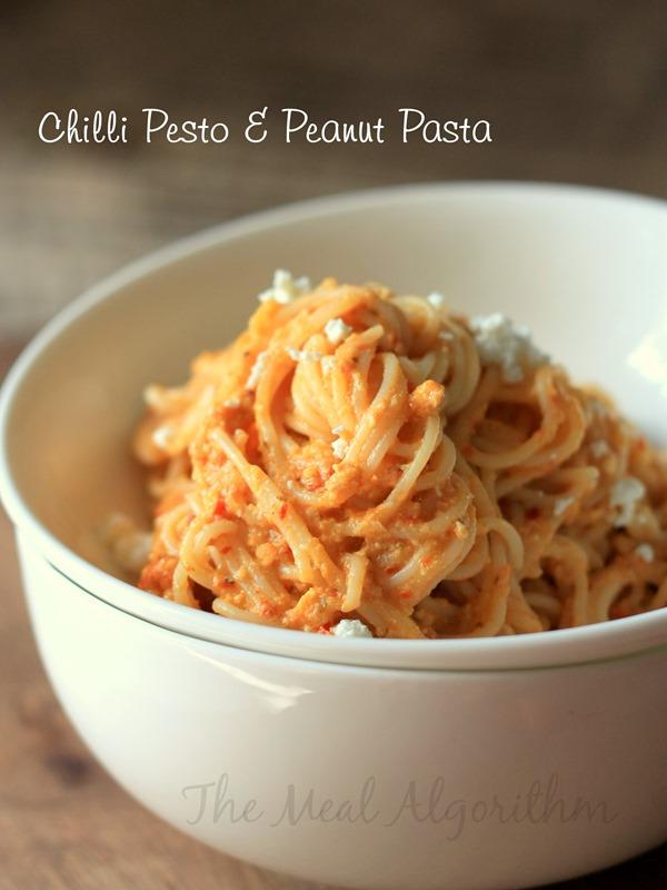 Peanut Hummus & Chilli Pesto Pasta-4