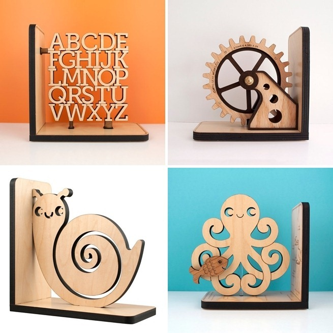 Bookends by Graphic Spaces