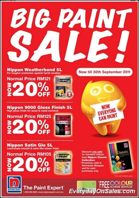 Nippon-Big-Paint-Sale-2011-EverydayOnSales-Warehouse-Sale-Promotion-Deal-Discount