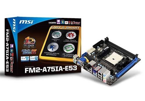 MSI-FM2-A75IA-E53