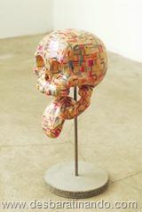 arte esculturas com skate reciclado desbaratinando  (40)