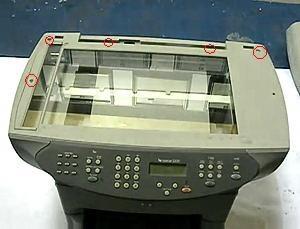 Fix HP 3300 3330 Scanner Bulb Warm Up Error