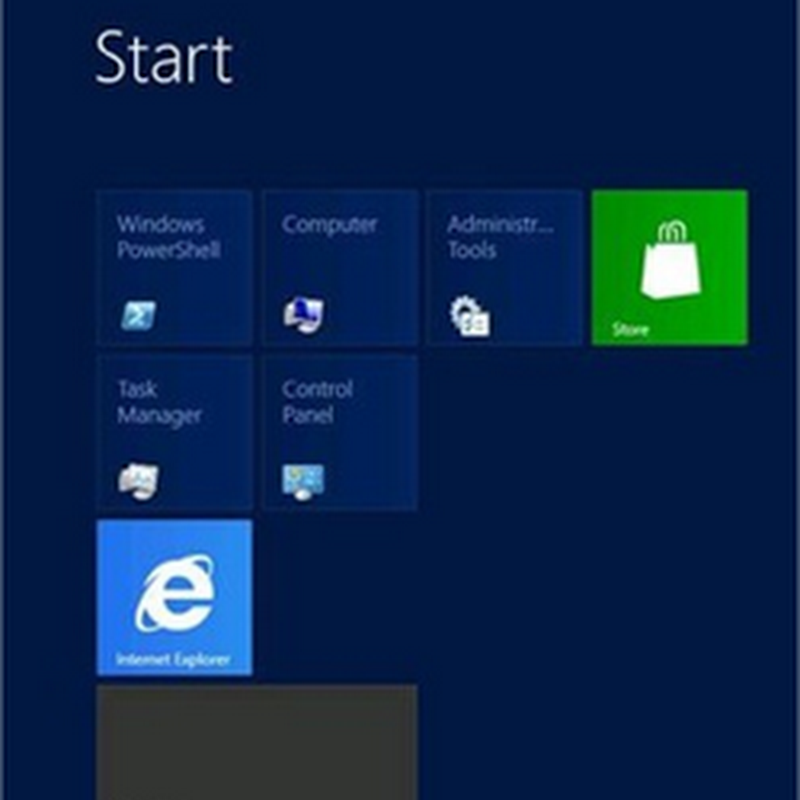 7 capacidades de Windows Server 2012