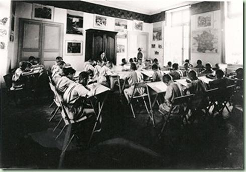 Une classe à Gesvres