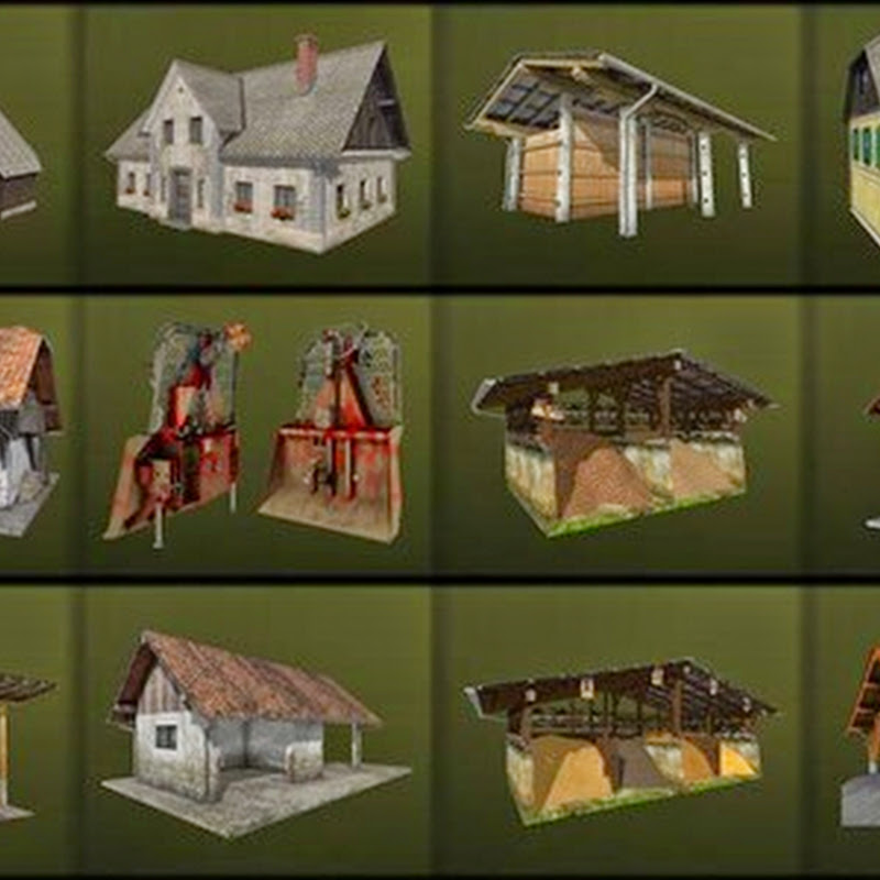 Farming simulator 2015 - Building Set v 1.0 Final