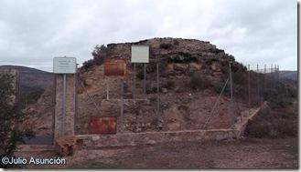 Castellet de Bernabé - Entrada - Lliría
