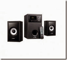 Snapdeal : Buy F&D A555U 2.1 Multimedia Speakers at Rs.2425 only