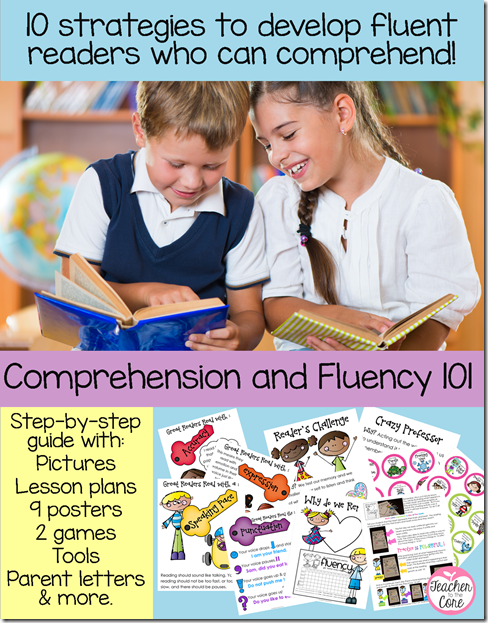 Develop fluent readers who can comprehend