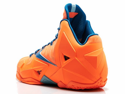 nike lebron 11 gr hardwood knicks 4 03 Release Reminder: LeBron 11 Atomic Orange Miami vs. Akron