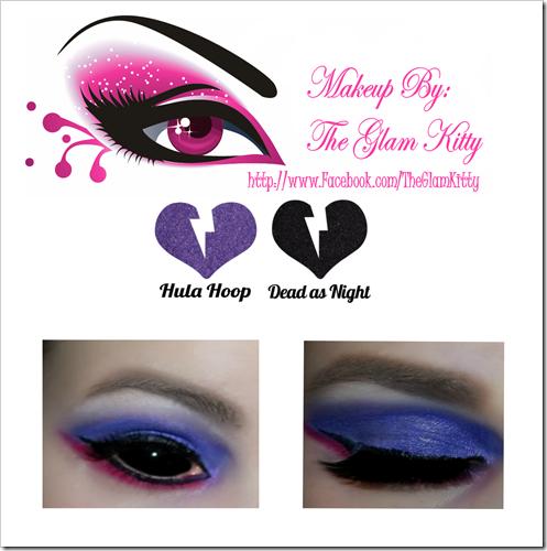 Amelia Nightmare Inspired Makeup