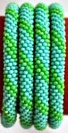 Green rollover bracelet green