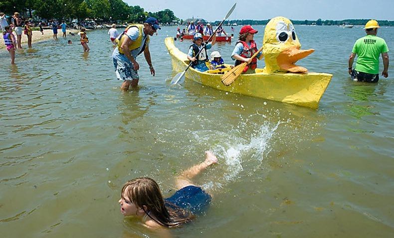 cardboard-boat-race