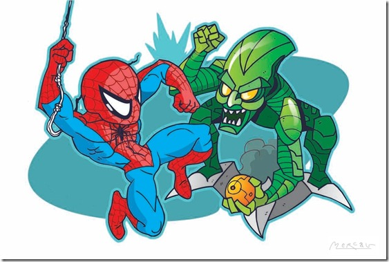 SpidermanVsGreenGoblin
